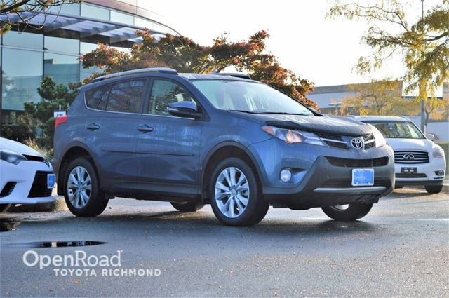 2013 TOYOTA RAV4 Limited in Richmond, British Columbia