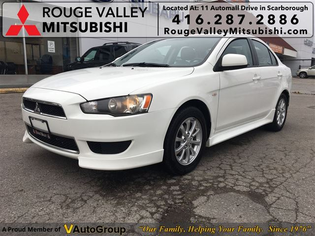 2013 MITSUBISHI LANCER SE, NO ACCIDENT, BODY IN GREAT SHAPE !!!! in Scarborough, Ontario