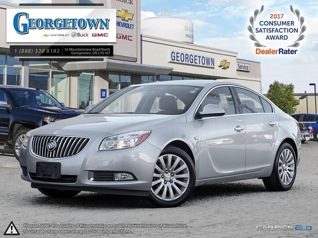 2011 BUICK REGAL CXL in Georgetown, Ontario