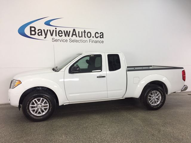 2016 NISSAN FRONTIER SV- 4L! ALLOYS! EXT CAB! A/C! NISSAN CONNECT! in Belleville, Ontario