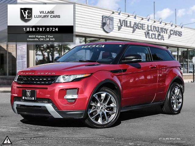 2012 LAND ROVER RANGE ROVER EVOQUE Pure Plus NAVIGATION | PARK ASSIST | HEATED SEATS | HEATED STEERING WHEEL in Markham, Ontario