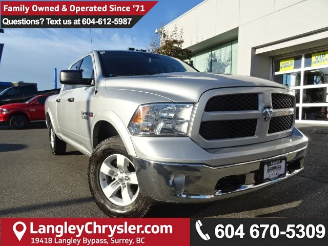 2017 DODGE RAM 1500 SLT in Surrey, British Columbia