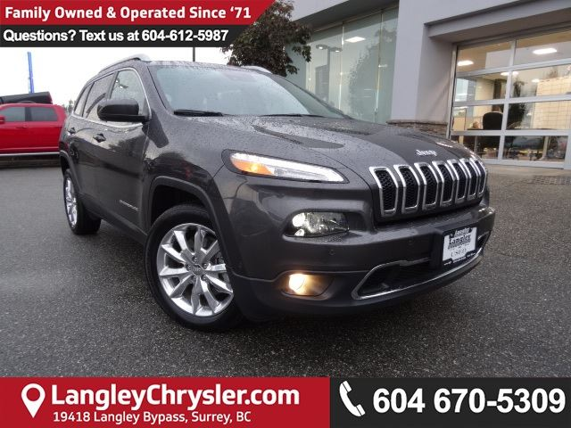 2017 JEEP CHEROKEE Limited *ACCIDENT FREE*ONE OWNER*LOCAL BC CAR* in Surrey, British Columbia