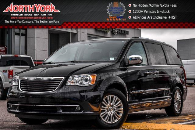 2013 CHRYSLER TOWN AND COUNTRY Limited Sunroof Nav. HeatSeats PwrSlidingDoors R-Start 17Alloys in Thornhill, Ontario