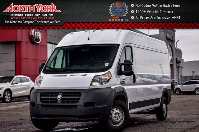 2017 RAM PROMASTER High Roof 159 Trac.Cntrl A/C Keyless_Entry in Thornhill, Ontario