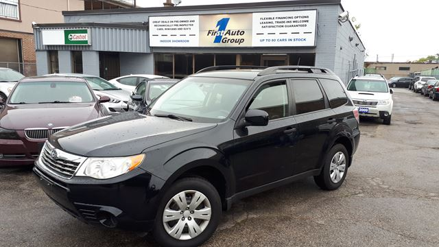 2010 subaru forester x sport black for 9990 in etobicoke for Subaru forester paint job cost