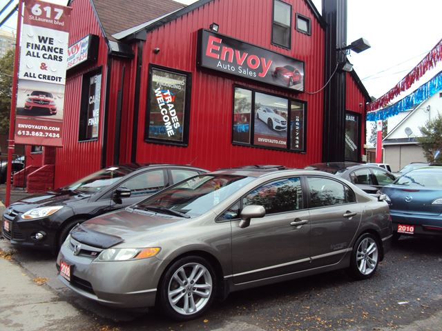 2008 HONDA CIVIC Si ONE OWNER!!NEW TIRES!!6SPEED!!MUST SEE!! in Ottawa, Ontario