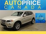 2013 BMW X3 NAVIGATION-PANOROOF-XENON in Mississauga, Ontario
