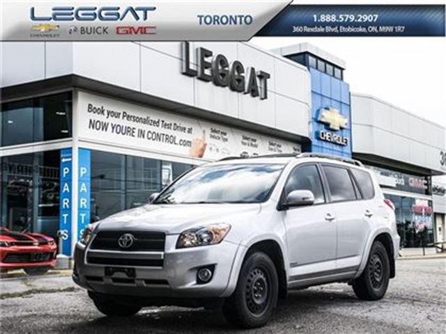 2010 Toyota RAV4 Sport, 4WD, A/C, and much more... in Rexdale, Ontario