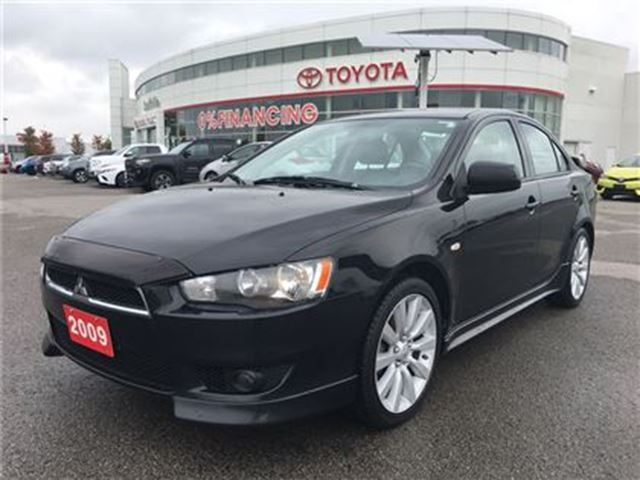 2009 MITSUBISHI LANCER GT- Brakes Serviced, Sporty Manual!! in Stouffville, Ontario