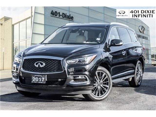 2017 INFINITI QX60 AWD, Technology Package! DVD, Blind Spot! in Mississauga, Ontario