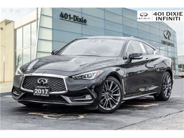 2017 INFINITI Q60 Red Sport, 400 HP! Technology Package! in Mississauga, Ontario