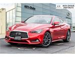 2017 Infiniti Q60 Red Sport, 400 HP! Technology, Silver Optics Pkg! in Mississauga, Ontario
