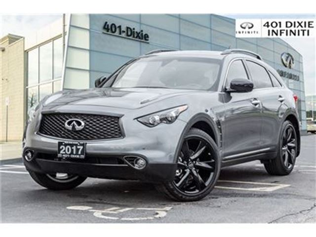 2017 INFINITI QX70 Sport, Technology Package! Intelligent Cruise! in Mississauga, Ontario