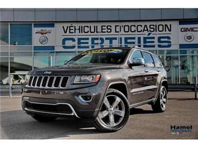 2016 JEEP GRAND CHEROKEE PDSF 58065$ ( PRIX D'UN NEUF DU FABRICANT ) in Montreal, Quebec