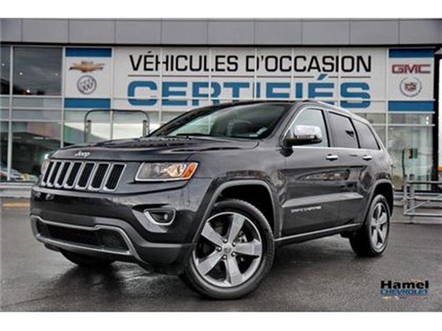 2016 JEEP GRAND CHEROKEE 4X4/JANTES 20 ''/TOIT OUVRANT/NAVI/ECRAN 8.4/CUIR/ in Montreal, Quebec