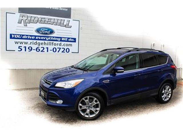2013 FORD ESCAPE SEL  LEATHER  HEATED SEATS  POWER LIFT GATE in Cambridge, Ontario