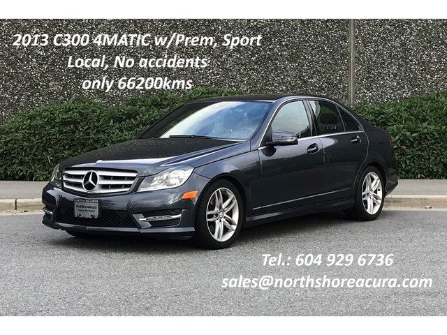 2013 MERCEDES-BENZ C-CLASS 4matic Sedan in North Vancouver, British Columbia
