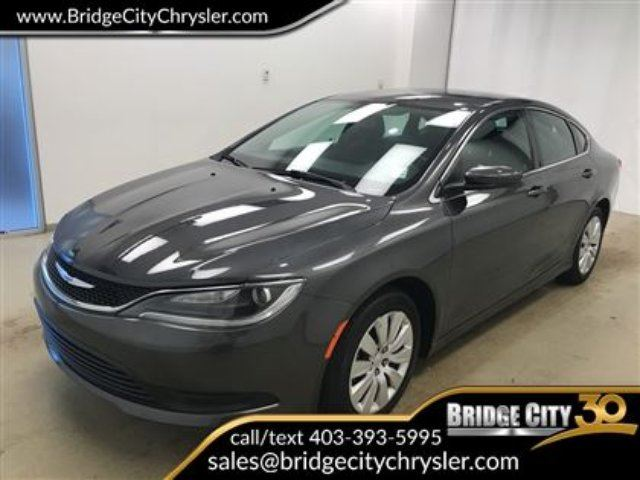 2015 CHRYSLER 200 LX- Great Fuel Economy! in Lethbridge, Alberta