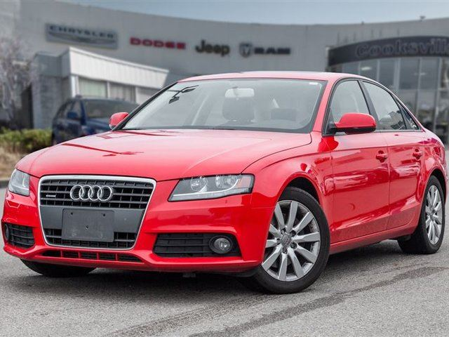 2010 AUDI A4 2.0T (M6) in Mississauga, Ontario