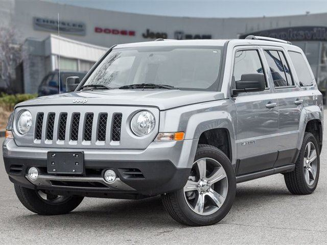 2016 JEEP PATRIOT HIGH ALTITUDE, LEATHER, ROOF in Mississauga, Ontario
