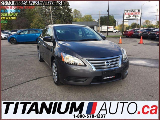 2013 NISSAN SENTRA SV+BlueTooth+Push Button Start+XM Radio+One Owner+ in London, Ontario