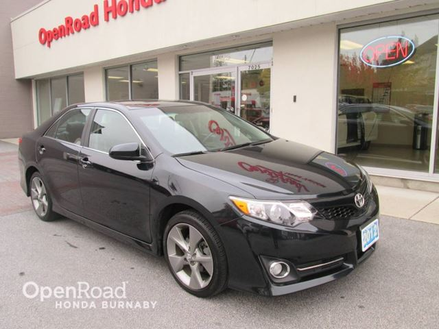 2012 TOYOTA CAMRY SE in Burnaby, British Columbia