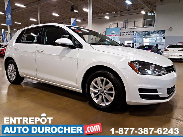 2015 VOLKSWAGEN GOLF AUTOMATIQUE - AIR CLIMATISn++ - SIn++GES CHAUFFANTS in Laval, Quebec