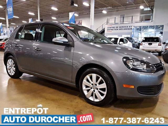 2013 VOLKSWAGEN GOLF AUTOMATIQUE - AIR CLIMATISn++ - SIn++GES CHAUFFANTS in Laval, Quebec