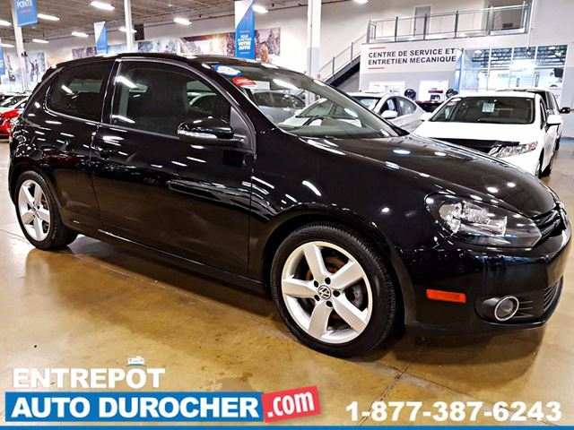 2012 VOLKSWAGEN GOLF AUTOMATIQUE - AIR CLIMATISn++ - TOIT OUVRANT in Laval, Quebec