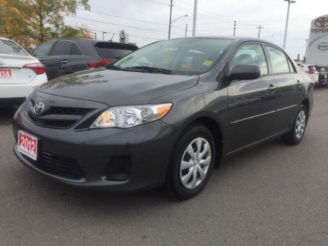 2012 TOYOTA COROLLA   AUTO+A/C+BLUETOOTH! in Cobourg, Ontario