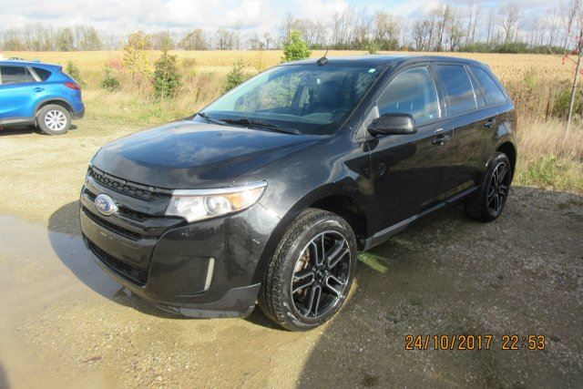 2014 Ford Edge SEL AWD! LEATHER! NAVIGATION! SUNROOF! REAR CAMERA! HEATED SEATS! PWR SEAT! BLUETOOTH! 20 ALLOYS! in Guelph, Ontario