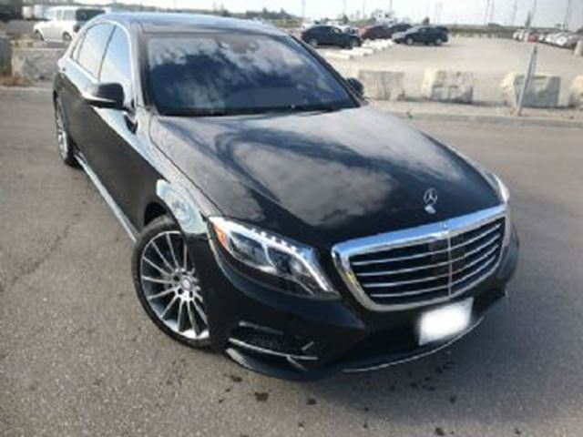 2017 MERCEDES-BENZ S-CLASS S550 4MATIC Sedan LWB in Mississauga, Ontario
