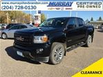 2016 GMC Canyon 4WD SLE in Brandon, Manitoba