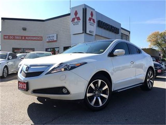2013 acura zdx tech package rare limited canada wide. Black Bedroom Furniture Sets. Home Design Ideas