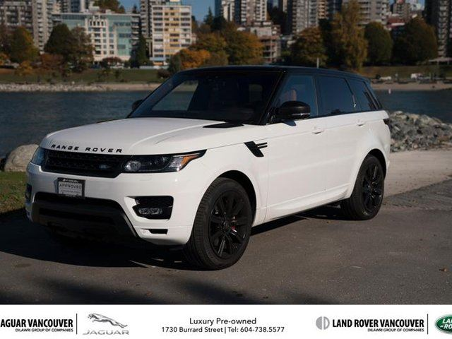 2017 LAND ROVER RANGE ROVER Sport V8 Supercharged Dynamic in Vancouver, British Columbia