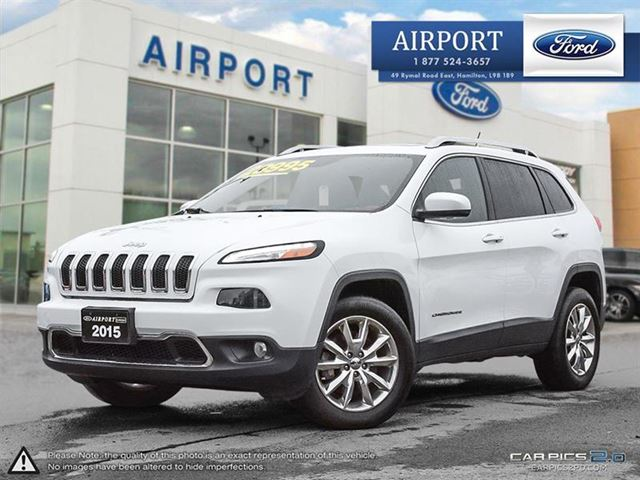 2015 JEEP CHEROKEE 4WD 4dr Limited in Hamilton, Ontario