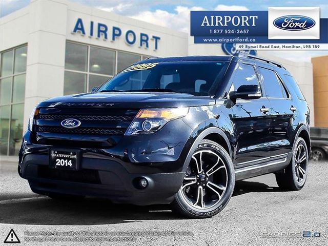 2014 FORD Explorer 4WD 4dr Sport in Hamilton, Ontario