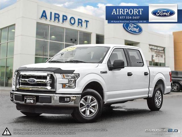 2016 FORD F-150 2WD SuperCrew 145 XLT in Hamilton, Ontario
