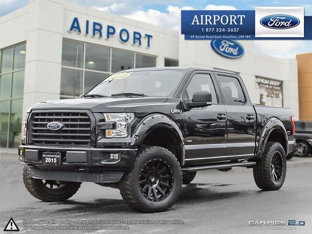 2015 FORD F-150 4WD SuperCrew 145 in Hamilton, Ontario