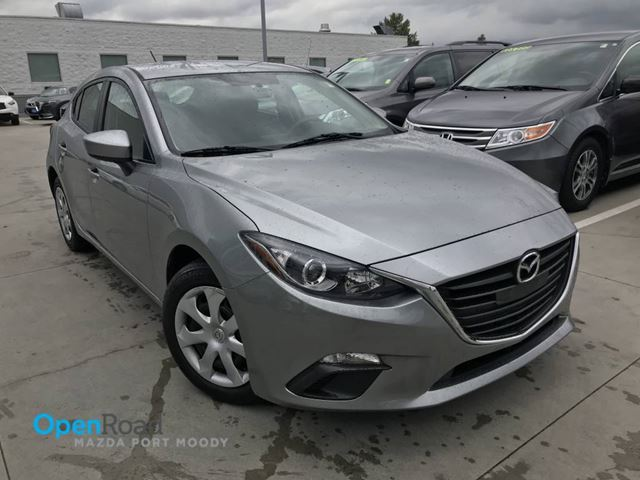 2015 MAZDA MAZDA3 GX A/T No Accident Local Bluetooth AUX A/C TCS  in Port Moody, British Columbia