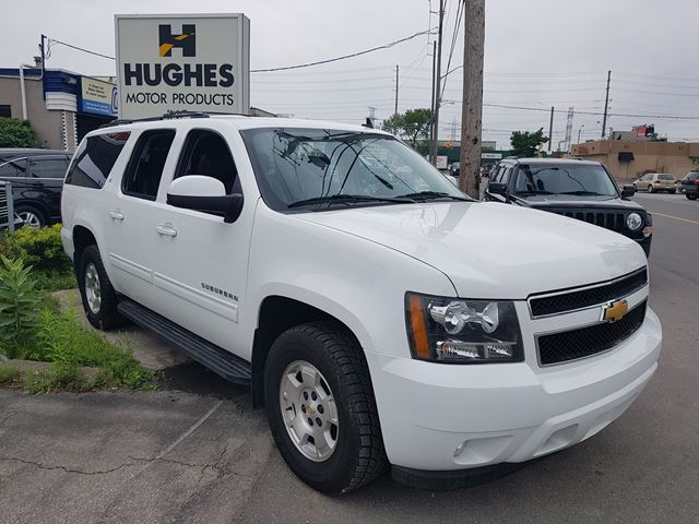 2013 Chevrolet Suburban Lt White Hughes Motor Products