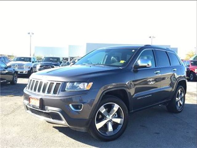 2016 JEEP GRAND CHEROKEE LIMITED**LEATHER**NAV**SUNROOF**BACK UP CAM** in Mississauga, Ontario