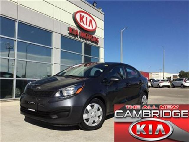 2015 KIA Rio LX+ KIA CERTIFIED PRE-OWNED in Cambridge, Ontario