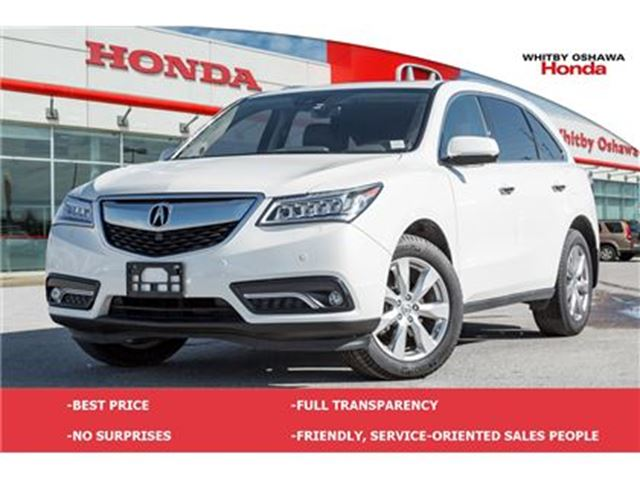 2016 ACURA MDX Elite Package in Whitby, Ontario