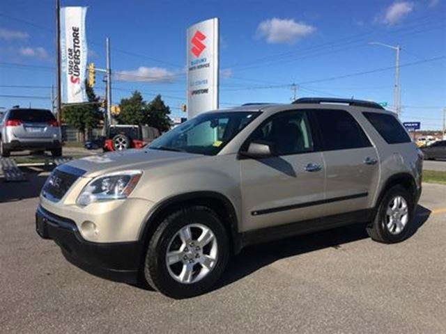 2009 GMC ACADIA SLE ~Low Low Km's ~Powerful V-6 ~Top Safety Scores in Barrie, Ontario