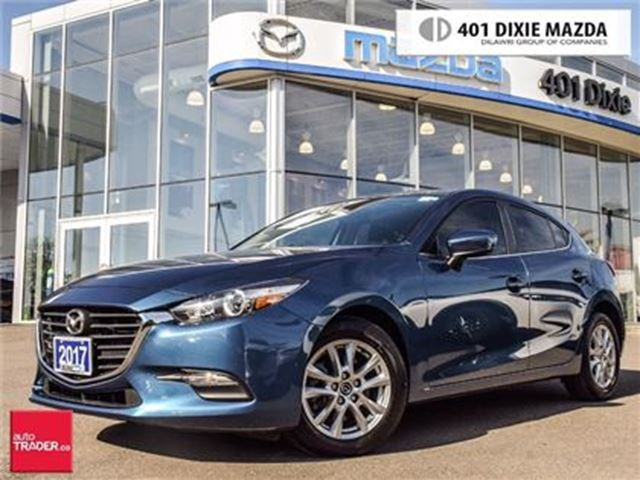 2017 MAZDA MAZDA3 Sport GS,MOONROOF,HEATED SEATS,HEATED STEERING in Mississauga, Ontario