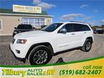 2014 Jeep Grand Cherokee Limited **WEEKLY PAYMENTS AS LOW AS $115** in Tilbury, Ontario
