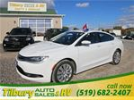 2015 Chrysler 200 LX **WEEKLY PAYMENTS AS LOW AS $63** in Tilbury, Ontario