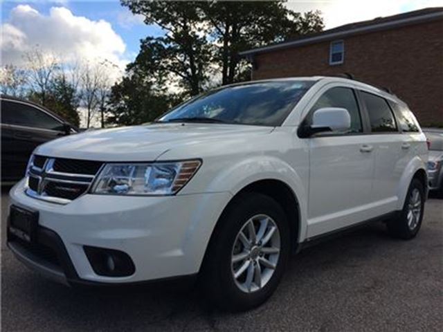 2014 DODGE JOURNEY SXT**UCONNECT**PROXIMITY KEY**CAR PROOF CLEAN** in Mississauga, Ontario